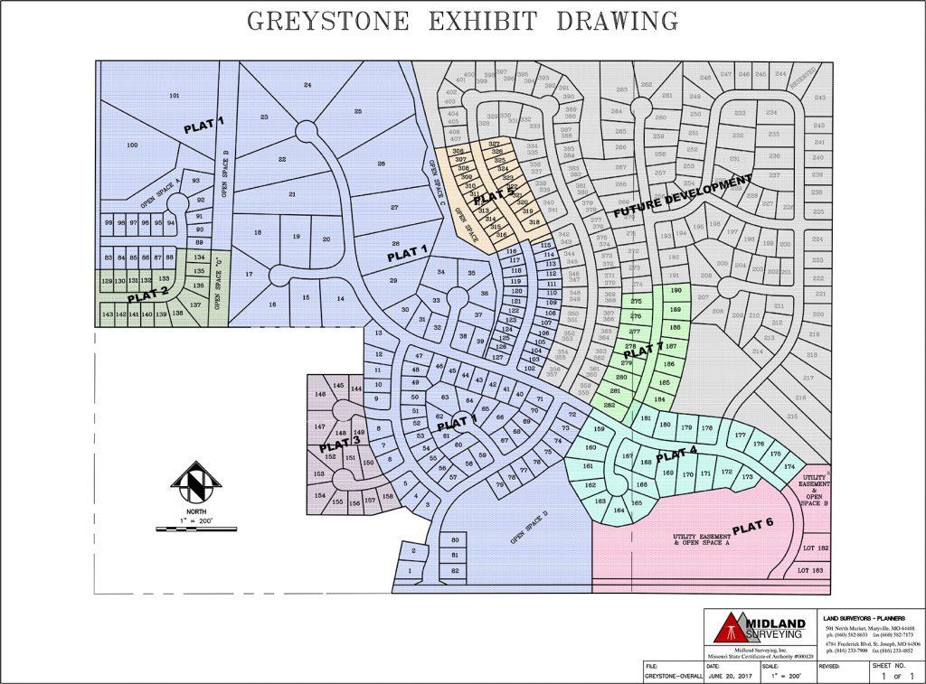 Greystone Plat Map